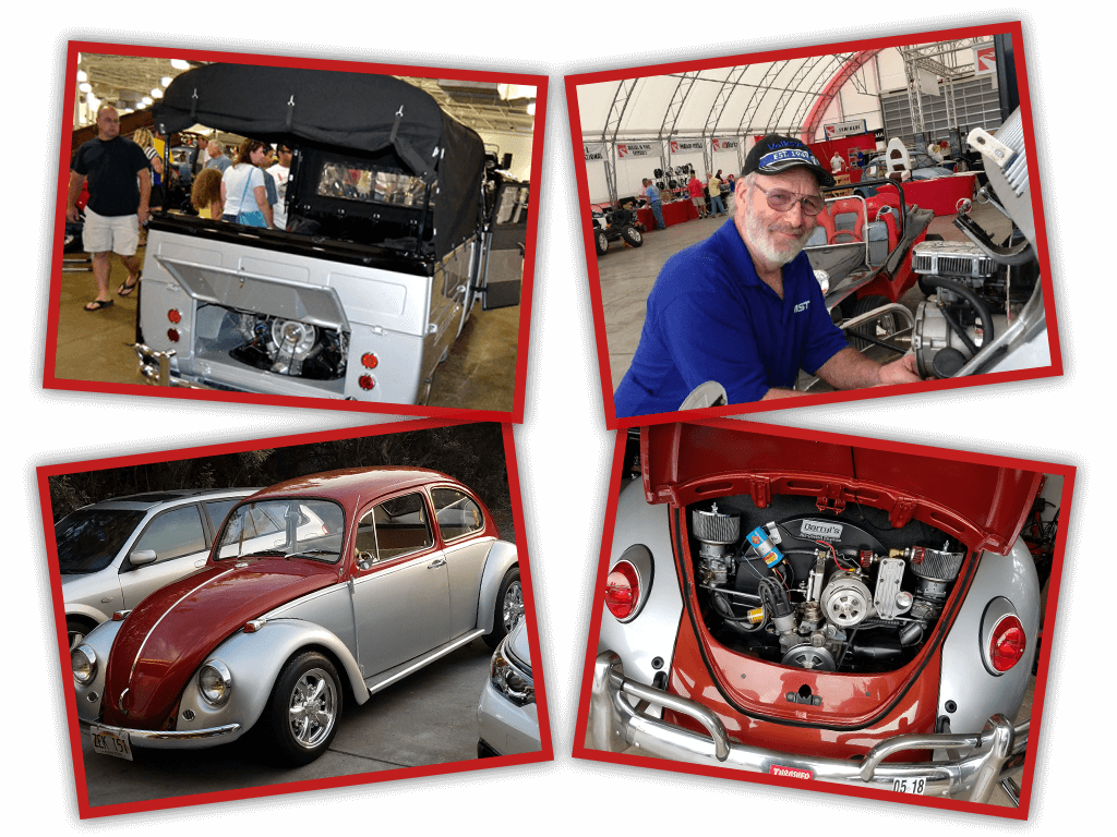 Collage image of VW